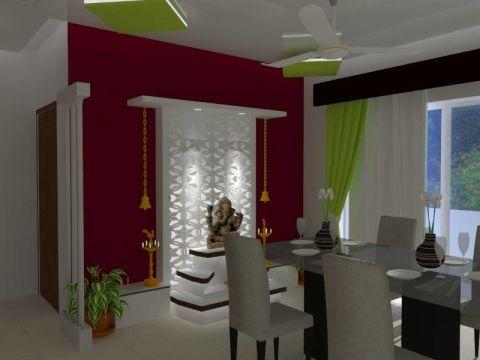 PRAYER ROOM  Yuvati Interiors