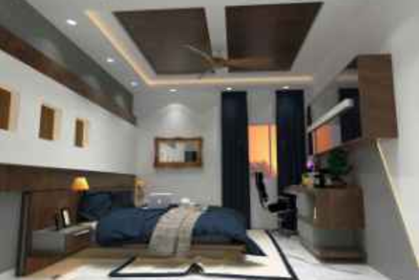 Bedroom AA interior work