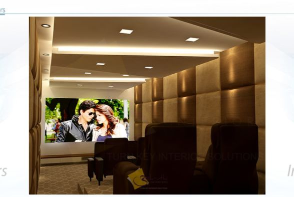 Home Theater Aakruthi Interiors