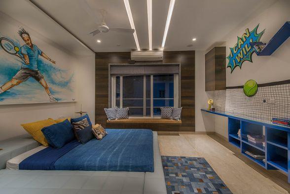 Nursery/Kid's room Aamir and Hameeda Interior Designers