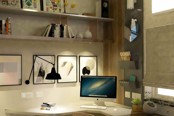 Study/Office Room Aaura Architects Designers