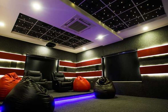Home Theater Active Designs