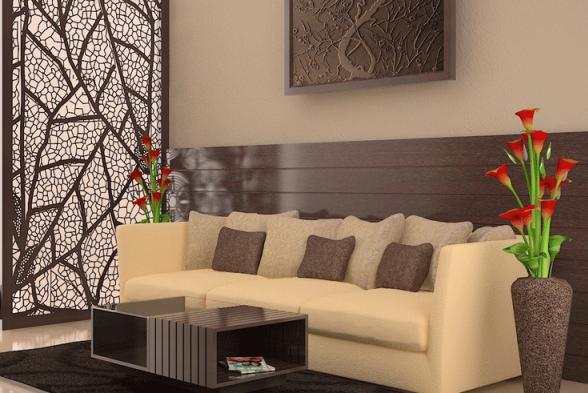 Living Room Adornar Interiors