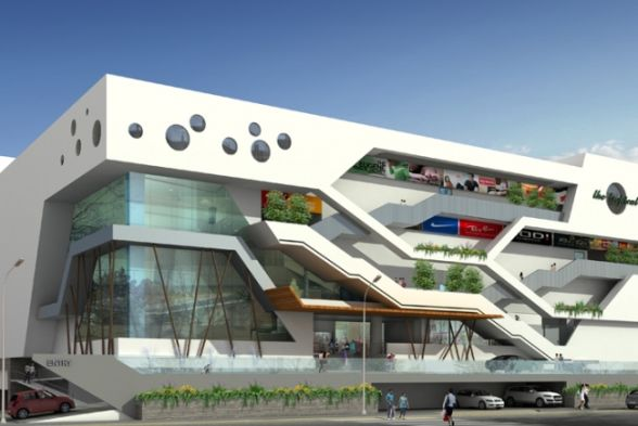 Shopping Centres Anudeep and Associates Architects