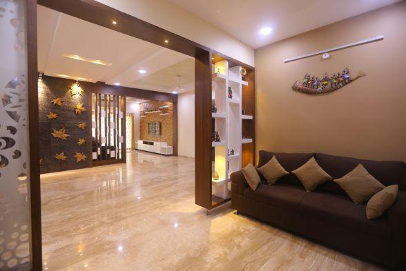 Living Room Arches Design Studio