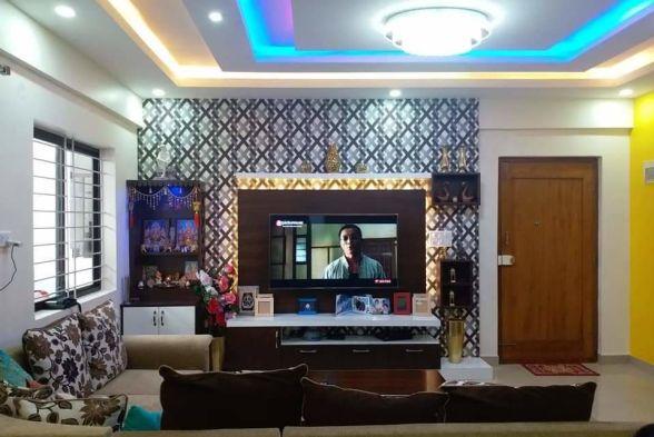 Living Room Arka Interiors
