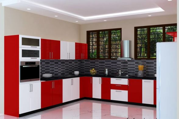 Kitchen Balabharathi Pvc Interior In Bangalore