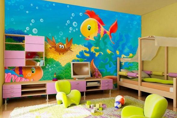Nursery/Kid's room Basil Interio