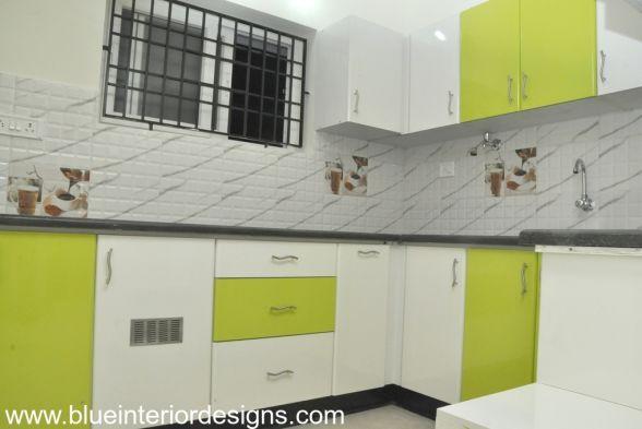 Kitchen Blue Interior Designs