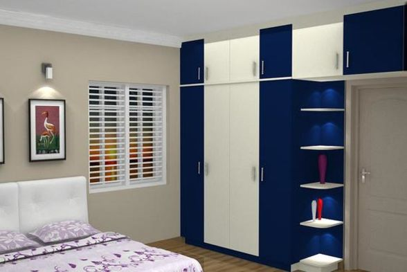 Bedroom Blue Interior Designs
