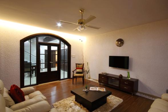 Living Room Brilliant Interiors