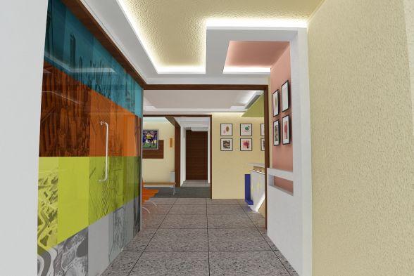 Corridor & Hallway Cerulean Interiors Pvt Ltd