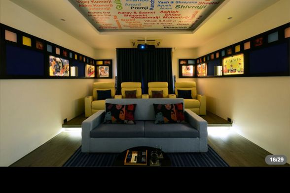 Home Theater Design House