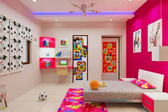 Nursery/Kid's room Digg Interiors