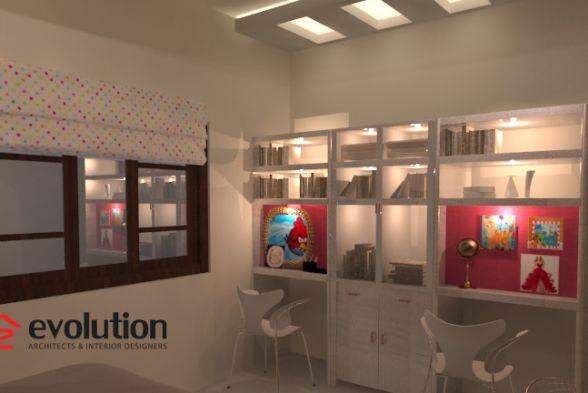 Study/Office Room Evolution Interiors