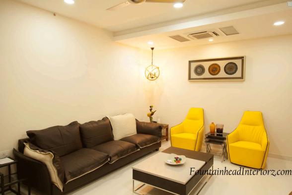 Living Room Fountainhead Interiorz