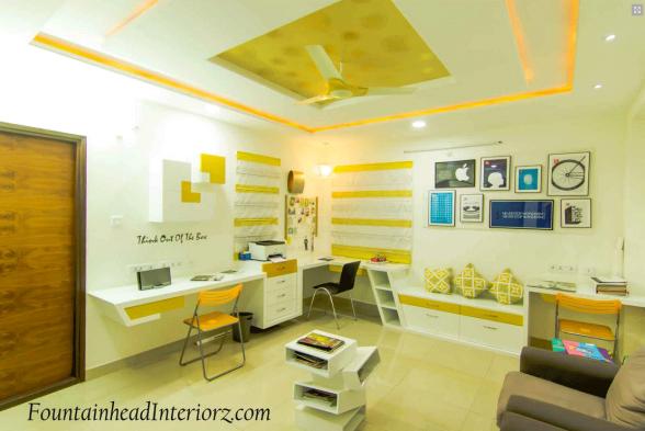 Study/Office Room Fountainhead Interiorz