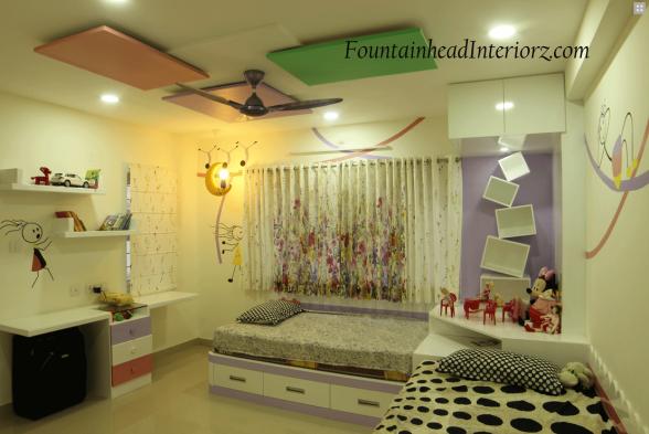 Nursery/Kid's room Fountainhead Interiorz