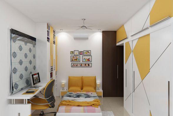 Nursery/Kid's room Fusion Interio
