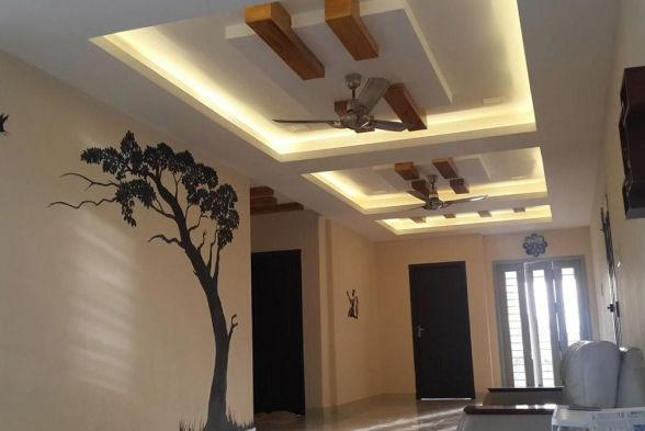 False Ceiling Greenleaf Interiors