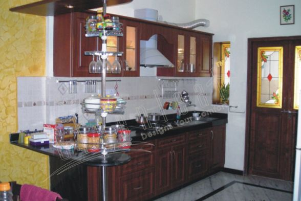 Kitchen Greenleaf Interiors Pvt Ltd
