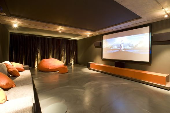 Home Theater Greenview Interiors