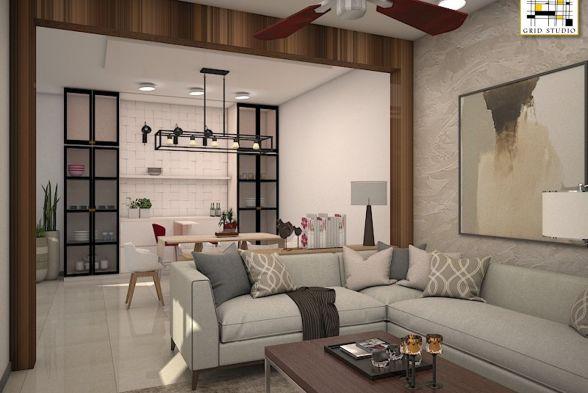Living Room Grid Studio