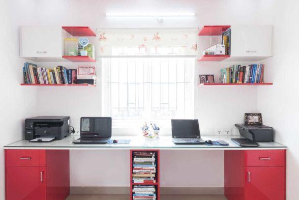 Study/Office Room HomeLane Interiors