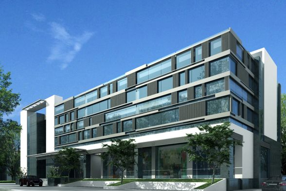 Office Buildings Kharche Associates