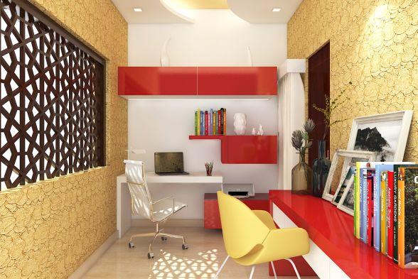 Study/Office Room Kredenza Interior Studios