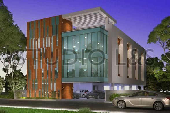 Office Buildings Lavanya and Shankar Architects