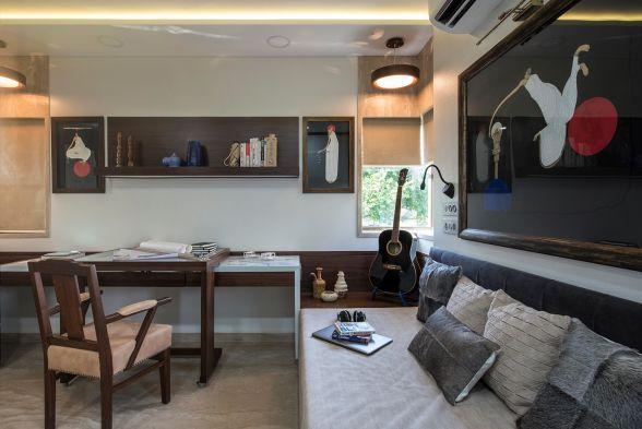 Study/Office Room Meraki Interiors