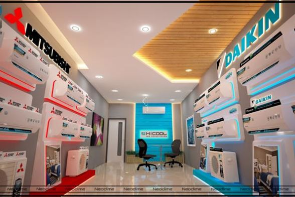 Commercial Spaces Neodime Interiors