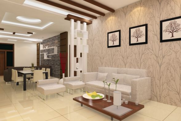 Living Room Omkar Interiors