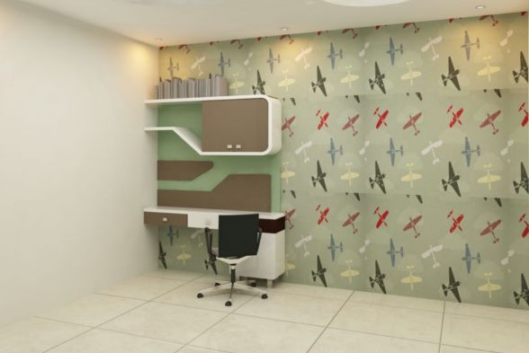 Study/Office Room Omkar Interiors
