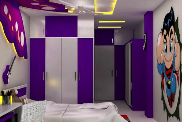 Nursery/Kid's room Palle Interiors