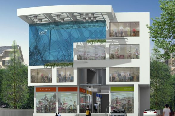Shopping Centres PS Binoy Architects