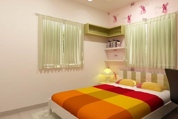 Nursery/Kid's room Rafters Interio