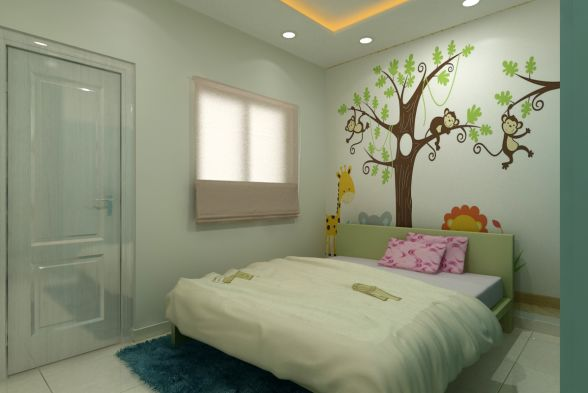 Nursery/Kid's room Rafters Interio