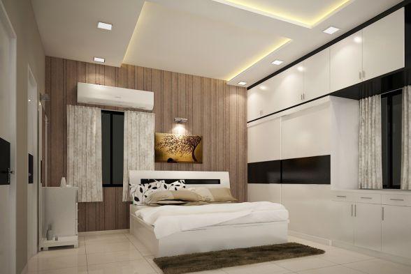 Bedroom Rafters Interio