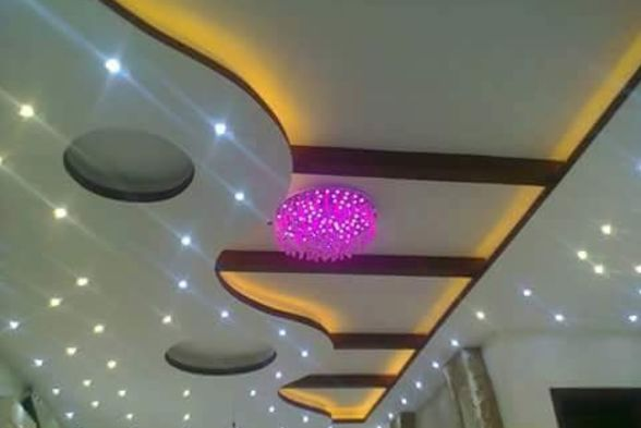 False Ceiling Rainbow Interiors