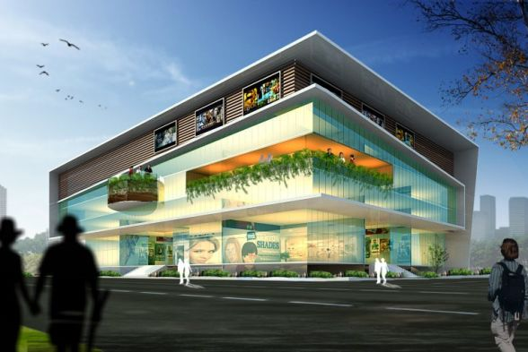 Shopping Centres Raj Architects