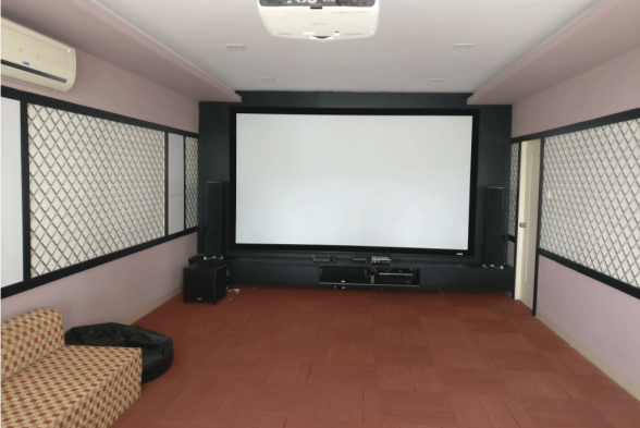 Home Theater Reddot Interio