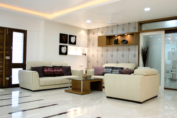 Living Room Rohit Interiors