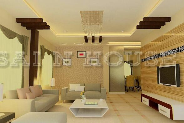 Living Room Sai N House Interiors