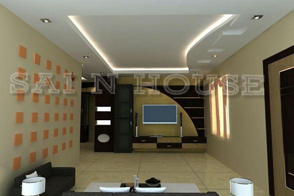 Living Room Sai N House Interiors