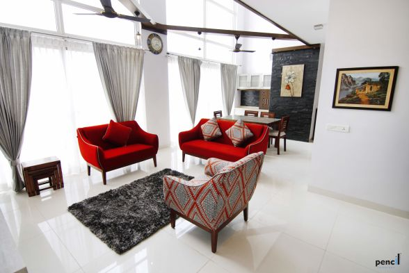 Living Room Shiju Krishnan