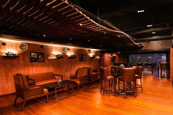 Bars & Clubs Siraj and Renu Interiors