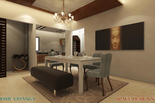 Dining Room Space Design Studio Interiors