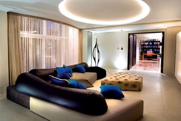 Living Room Sree Interiors